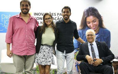 Jovem Cientista: estudantes e pesquisadores são premiados