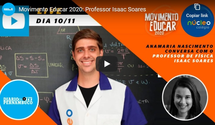 Enem 2020: Dicas do professor de física Isaac Soares