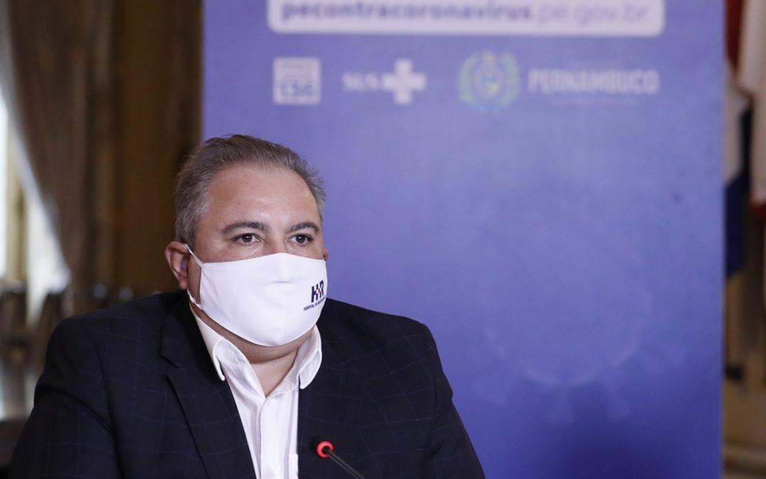 Secretário de Saúde de Pernambuco defende adiamento das provas