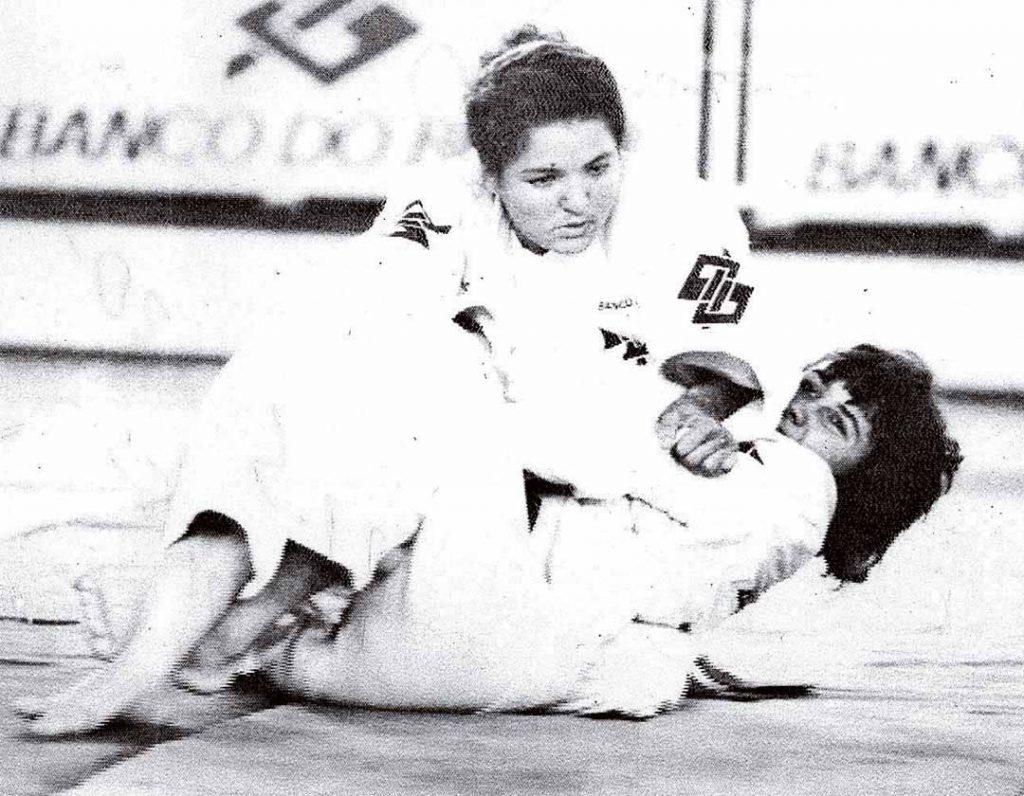 Pernambucana em ação na seletiva para os Jogos Olímpicos de Barcelona, em 1992 - Foto: Arquivo/DP