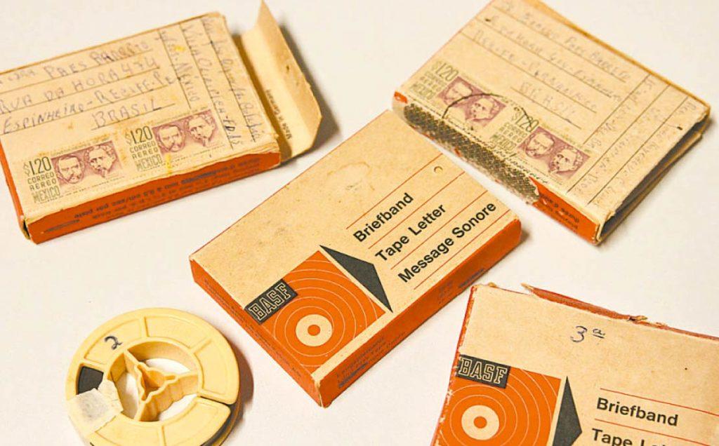 Fitas contêm gravações feitas na Vila Olímpica, em 1986 - Foto: Ricardo Fernandes/DP