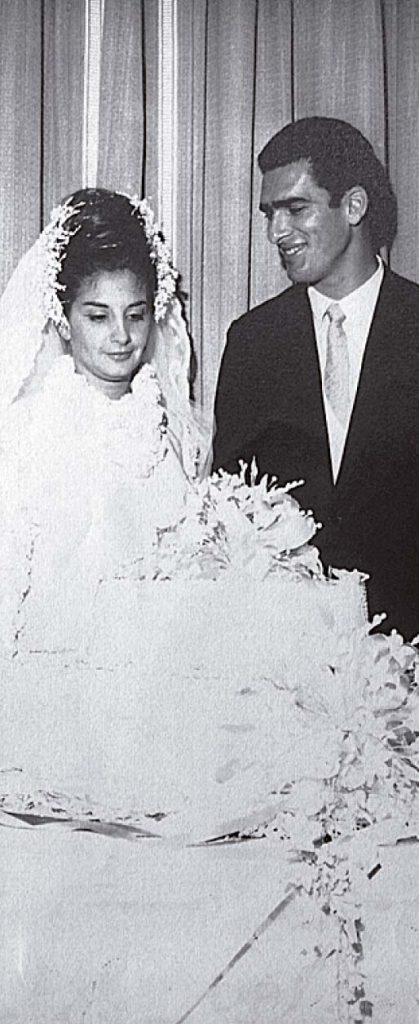 Assim que voltou dos Jogos, Newdon casou - Foto: Arquivo