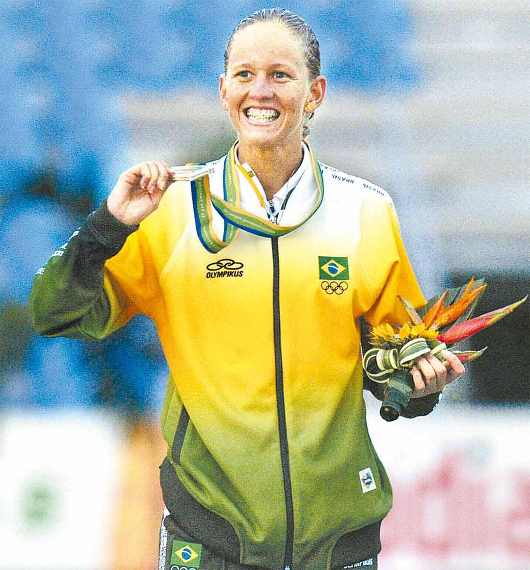 Em Deorodo, Yane foi ouro no Pan-2007, medalha que lhe garantiu nos Jogos de 2008 - Foto: Heitor Cunha/DP