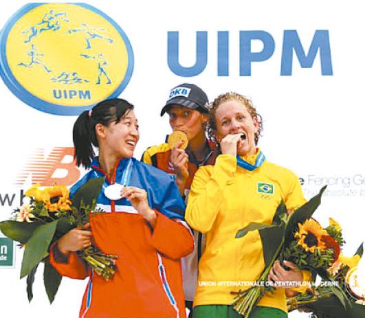 O bronze na Alemanha garantiu vaga no Rio-2016 - Foto: Divulgação