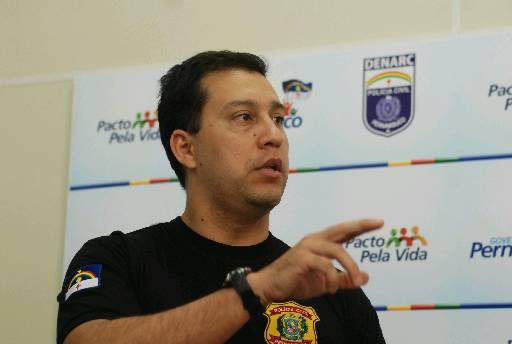 Delegado Luiz Andrey, que já foi gestor do Denarc, será o sub-chefe