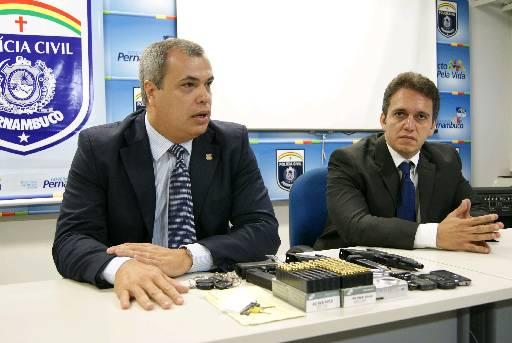 Delegados Antônio Barros e José Cláudio Nogueira falarão pelo Depatri