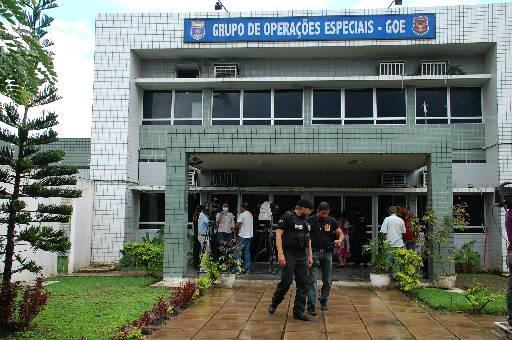 GOE, no bairro do Cordeiro, era Quartel General para operações