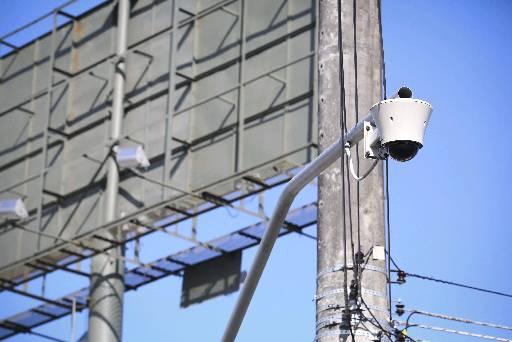 São 24 câmeras que estão ligadas com a central da SDS. Foto: Helder Câmara/DP/D.A/Press