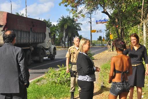 Membros da CPI estiveram em ponto de exploração no Recife. Foto: Arthur de Souza/DP/D.A/Press