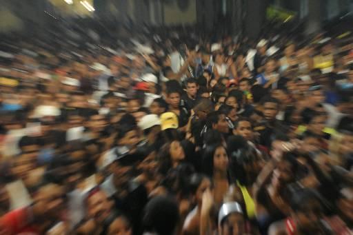 Festa com grande público pode ser um perigo Fotos: Teresa Maia/DP/D.A.Press