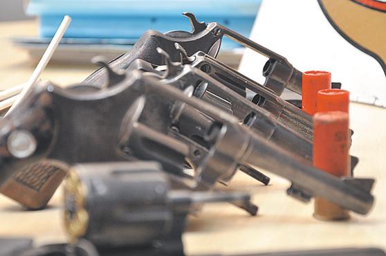 Armas podem ser entregues sem burocracia. Foto: Juliana Santos/DB/D.A.Press