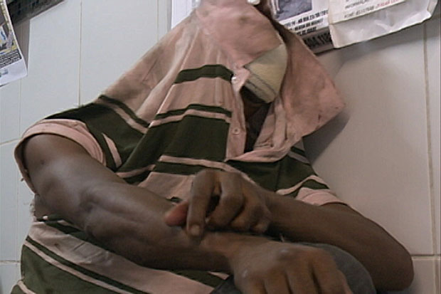 Homem foi autuado em flagrante e levado para o Cotel. Foto: TV Clube/Reprodução