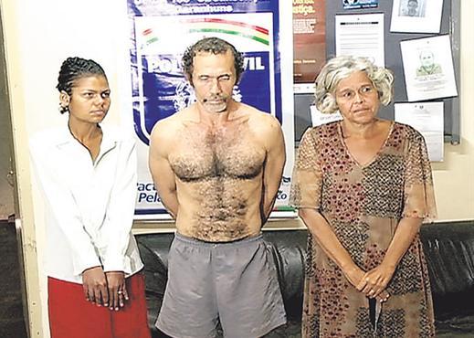 Acusados estão presos. Crimes foram descobertos há um ano. Foto: Reprodução/TV Clube