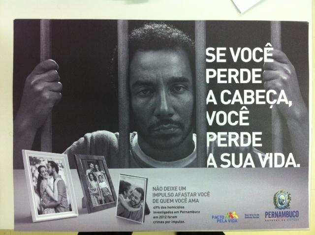 Campanha será veículada em várias mídias. Foto: Wagner Oliveira/DP/D.A Press