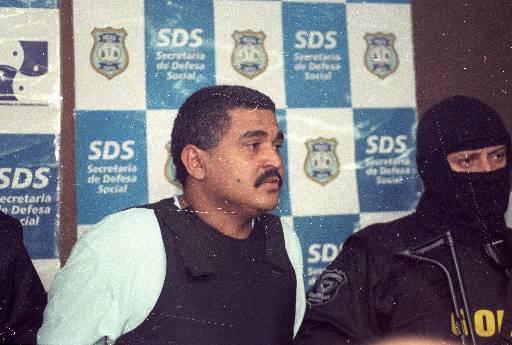 Marcelo Lira quando foi preso em 2003. Crédito: Alcione Ferreira/DP/D.A Press.