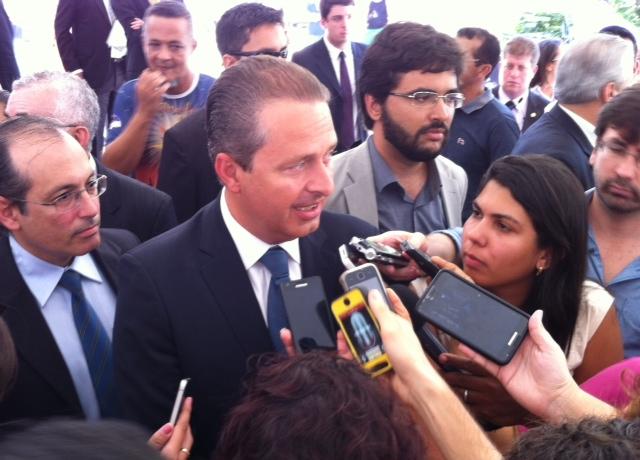 Governador disse que estava fazendo ajustes. Foto: Wagner Oliveira/DP/D.A Press