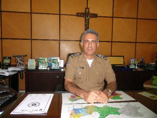 Coronel Pereira quer PM perto da população. Foto: Wagner Oliveira/DP/D.A Press