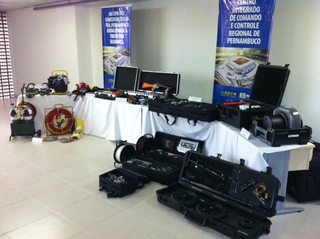 Equipamentos foram recebidos pela SDS. Foto: Wagner Oliveira/DP/D.A Press