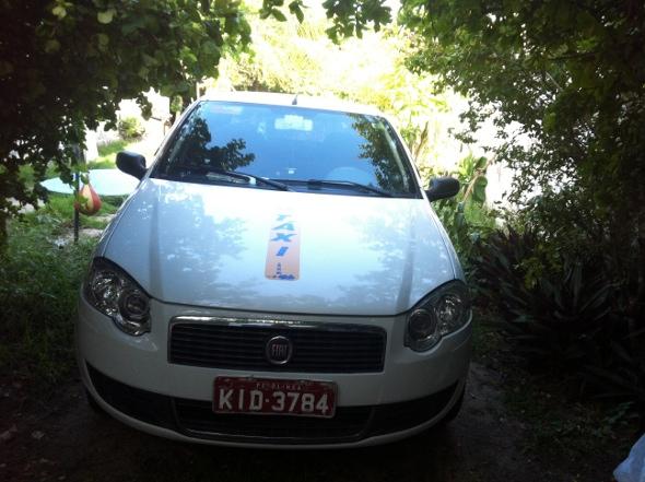 Veículo tem placa de Olinda. Foto: Divulgação