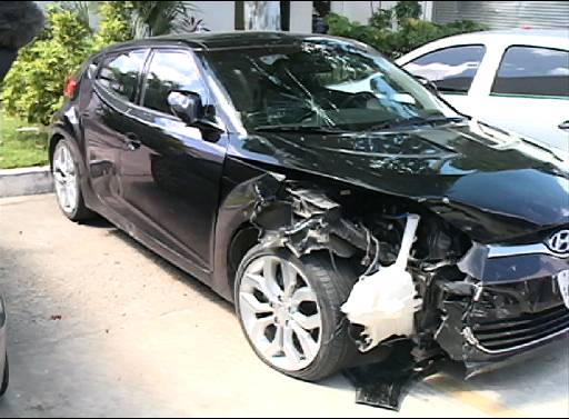 Veículo está na Delegacia de Delitos de Trânsito.
