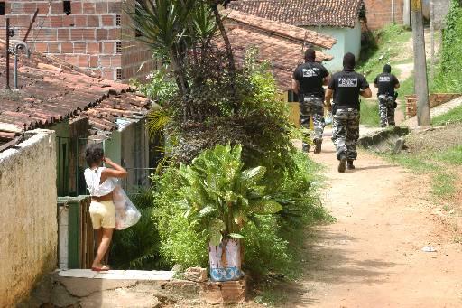 Polícia esteve em Jardim São Paulo para prender a quadrilha. Foto: Alcione Ferreira/DP/D.A Press