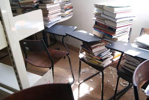 Bibliotecas serão reformadas. Foto: Alice de Souza/DP/D.A Press