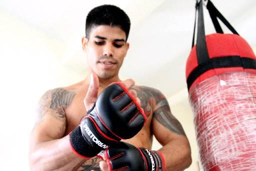 Detento Leandro Henrique luta MMA e participa de torneios. Foto: Paulo Paiva/DP/D.A Press