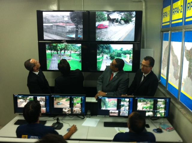 Centro de Operações foi inaugurado nessa quinta-feira. Foto: Wagner Oliveira/DP/D.A.Press