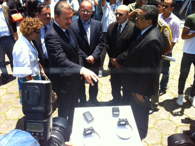 Governador entregou viaturas da Patrulha. Foto: Wagner Oliveira/DP/D.A Press
