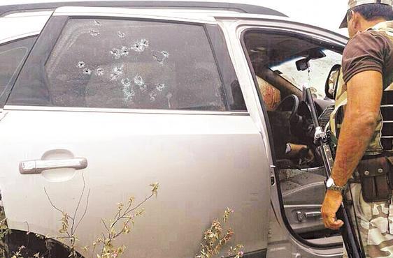 Thiago Faria foi executado dentro do próprio carro. Foto: Anônimo