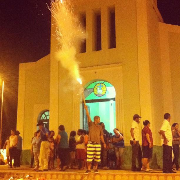 Missa será na capela de São Sebastião. Foto: Wagner Oliveira/DP/D.A Press