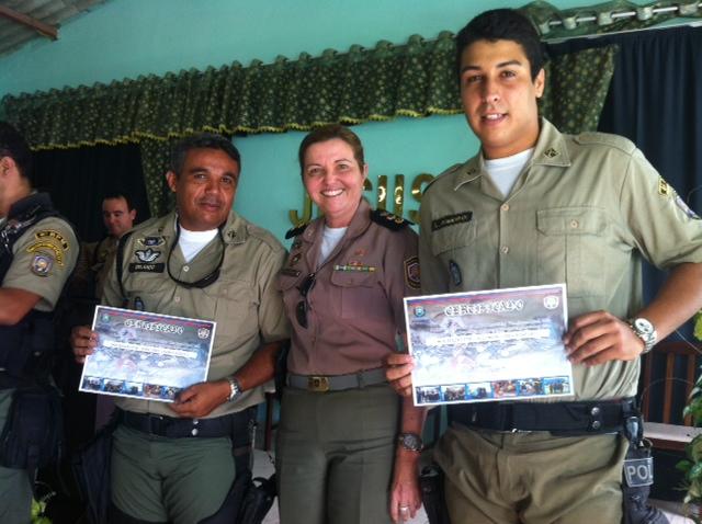 Soldado era constantemente homenageado. Foto: Divulgação