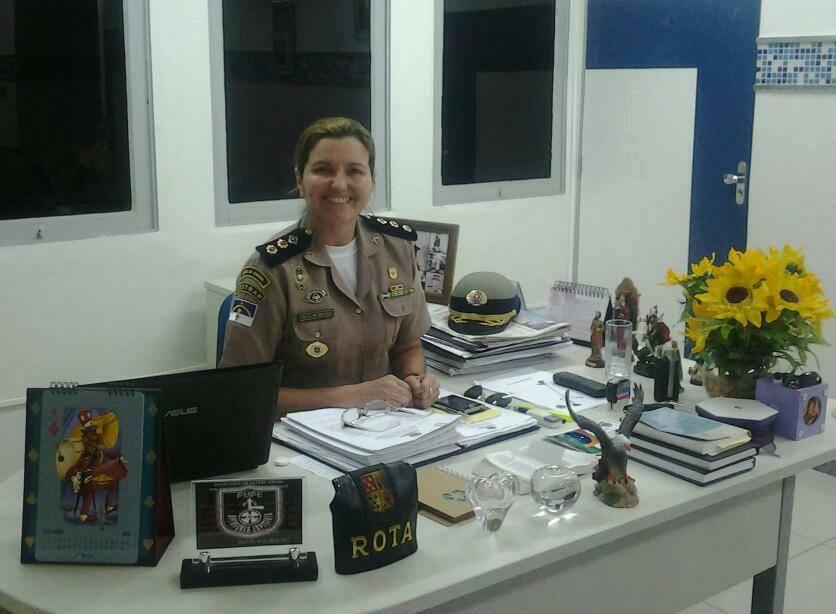 Oficial está pronta para assumir novo desafio. Foto: Reprodução/Facebook
