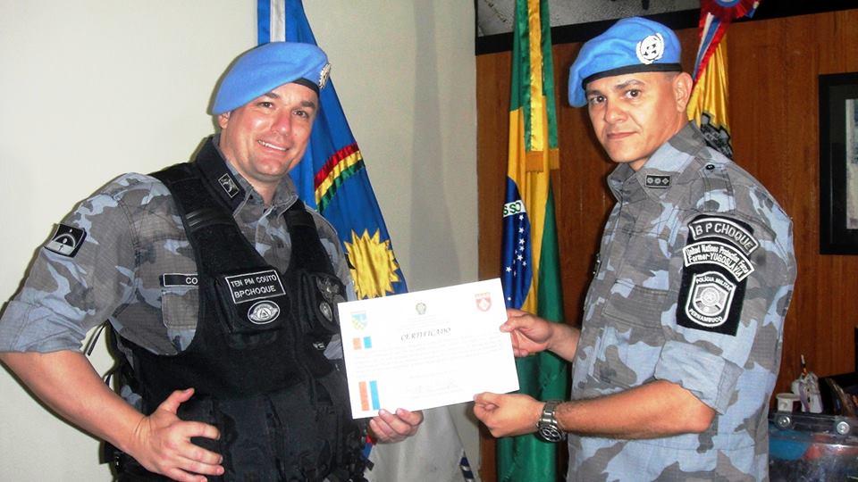 Ricardo Couto e Walter Benjamin são os únicos condecorados. Foto: Divulgação
