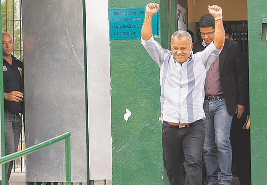 Agricultor perdeu 16 kg enquanto esteve preso. Foto: Ricardo Fernandes/DP/D.A Press