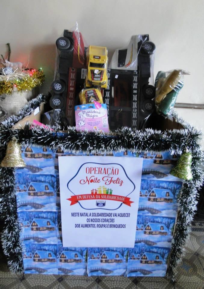 Doações foram recebidas nas delegacias do estado. Fotos: Polícia Civil/Divulgação