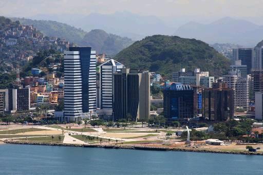 Vista da cidade de Vitória (ES). Foto: Mauricio Mercer/Divulgação