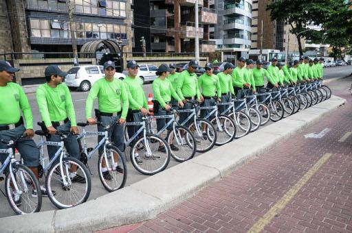 Bikes irão ser usadas para atender dois bairros. Foto: Luciano Ferreira/PCR