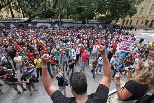 PMs não aceitaram propostas do governo. Credito: Allan Torres/Esp. DP/D.A.Press