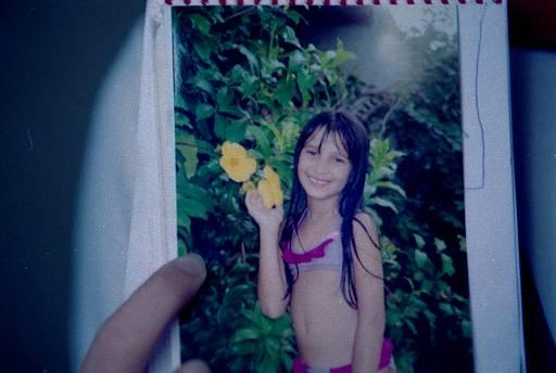 Lara tinha sete anos quando foi baleada. Fotos: Teresa Maia/DP/D.A Press
