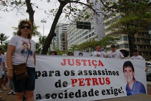 Familiares fizeram vários protestos pedindo justiça. Foto: Nando Chiappetta/DP/D.A Press