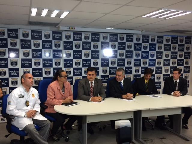 Caso foi apresentado na sede da Polícia Civil. Fotos: Wagner Oliveira/DP/D.A Press