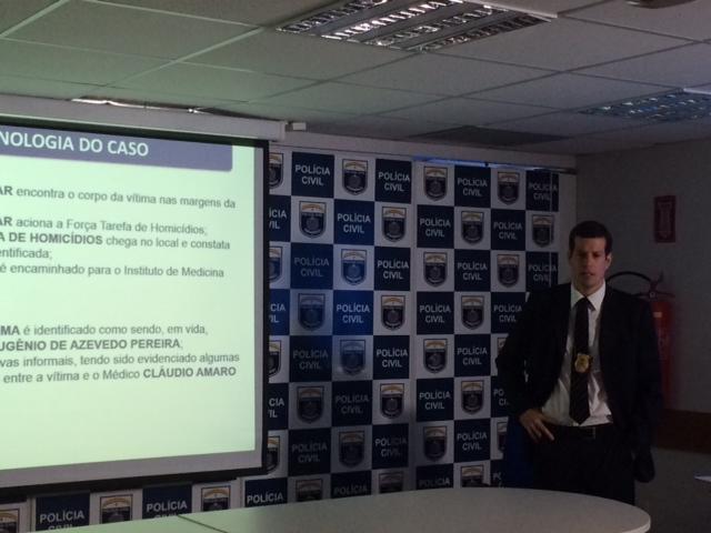 Delegado Guilherme Caraciolo falou sobre as investigações