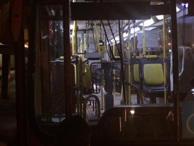 Crime dentro coletivo assustou passageiros no início deste mês. Foto: Wagner Oliveira/DP/D.A Press