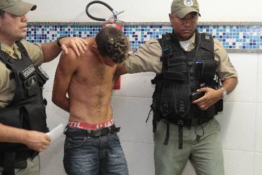 Jovem de 18 anos nega participação no crime. Foto: Nando Chiappetta/DP/D.A Press