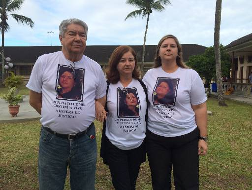 Familia acompanhou todo julgamento. Foto: Wagner Oliveira/DP/D.A Press