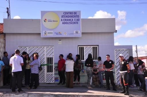 Unidade vai atender população de Encruzilhada de São João. Foto: Paulo Maciel/SEDSDH