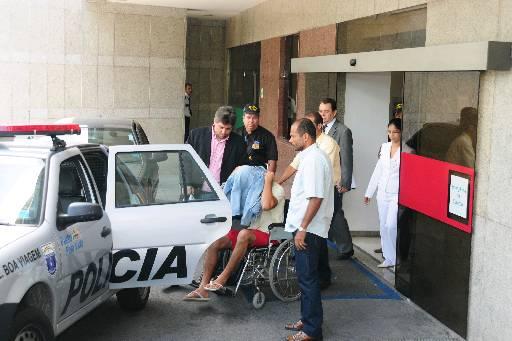 Acusado ainda passou uns dias no hospital após o acidente. Foto: Alcione Ferreira/DP/D.A Press