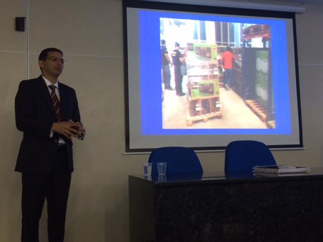 Delegado Osias Tibúrcio explicou os detalhes da operação na sede do Depatri