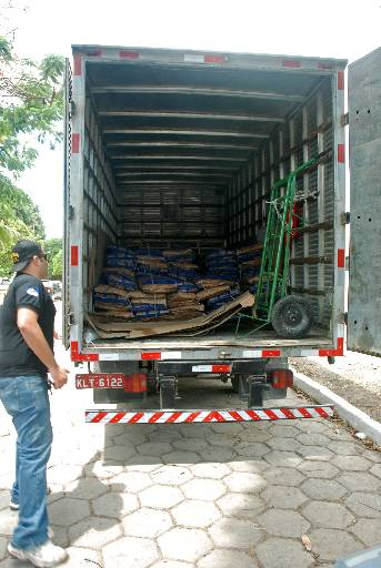 Roubos de cargas seguem desafiando a polícia. Foto: Marcelo Soares/Esp. DP/D.A Pres